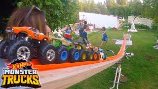 Monster Truck El Parque Acuático de Hot Wheels Express