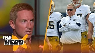 Joel Klatt talks Notre Dame coaching, Top 25 Poll and 2017