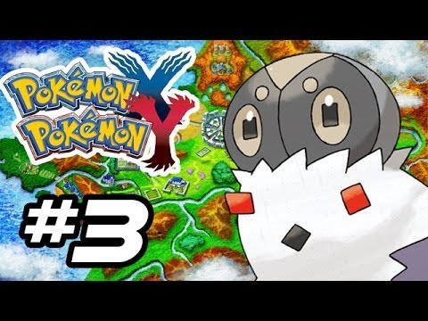 Pokemon X and Y Gameplay Walkthrough - Part 3 - BUGVILLE!! (Pokemon Gameplay 3DS HD)