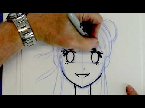 How to Draw a Manga Girl - Beginners