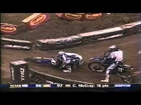 2004 AMA Supercross Crashes