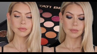 TATI BEAUTY DAY TO NIGHT TUTORIAL (ON HOODED EYES) | BrittanyNichole