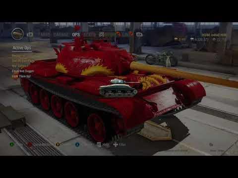 WOT on Xbox One X,  King Dragon vs. Type 59