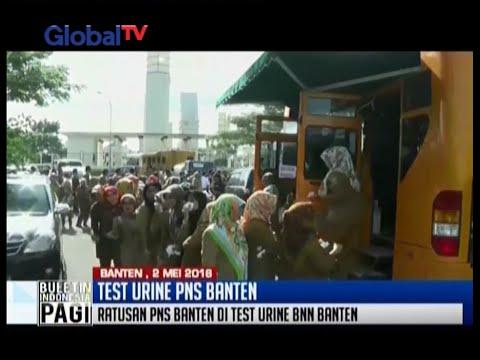 BNN tes urine PNS Pemprov Banten, Gubernur Banten Rano Karno tidak terlihat - BIP 03/05