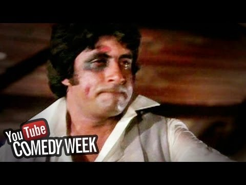 Amitabh Bachchan Talking to Mirror - Amar Akbar Anthony - Comedy...