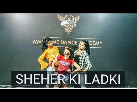 Download Lagu  Sheher ki ladki    Badshah   Raveena Tandon   Sunil Shetty   RK choreographer  Awesome Dance Academy Mp3 Free