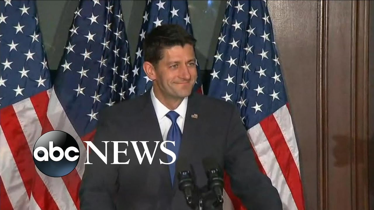 Speaker Ryan Says He Hasn't Made a Decision on Endorsing Trump