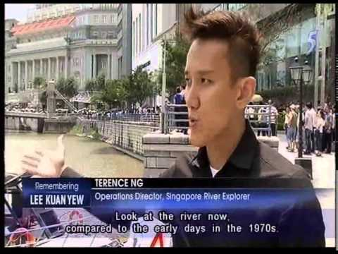 Singapore Channel 5 news 26th March 2015  - More Coverage on Mr Lee Kuan Yew