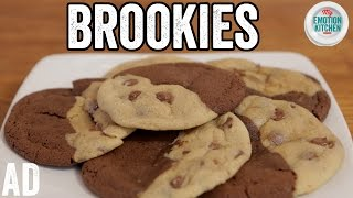 BROOKIES (BROWNIE COOKIES!) RECIPE | EMOTION COOKBOOK #6 COMFORT #ad