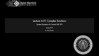 A.01 Complex functions