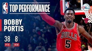 Bobby Portis Posts a CAREER-HIGH 38 Pts Off the BENCH | February 22, 2018