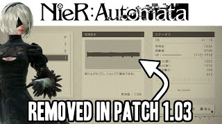 Update Removes This 'Offensive' Item From Nier: Automata