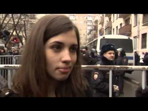Pussy Riot interview  Nadezhda Tolokonnikova comments on Ukraine protests