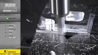 Turbine Blade Machining with Kennametal's Standard Ceramic Tools