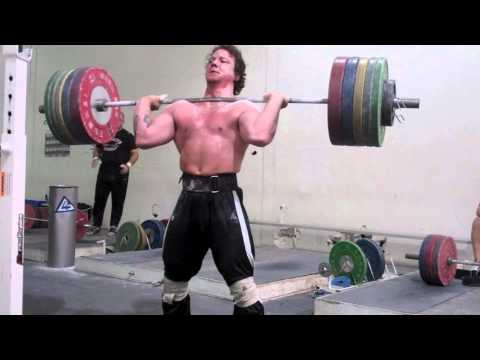 Donny Shankle is Bigger Than You - 200kg PR Hang Clean Image 1