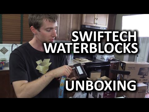 Classic Unboxing - Swiftech Apogee XL CPU and Komodo NV LE GPU Water Blocks