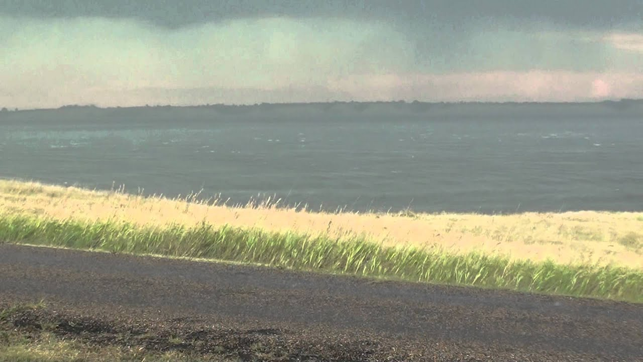 Summer storm on lake sakakawea youtube for Lake sakakawea fishing report
