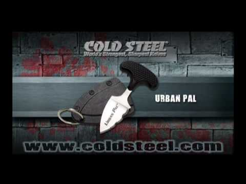 Cold Steel Urban Pal Demonstration - Displays the power of the Urban Pal.