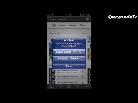 Download Armada Music ringtones on your iPhone (NEW 2013 version)!