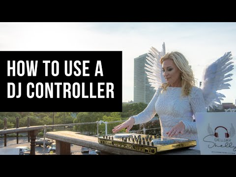 How to hook up a Controller to Self Powered or Active Speaker. French subtitles.