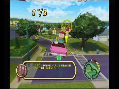 The Simpsons Hit and Run Walkthrough pt1