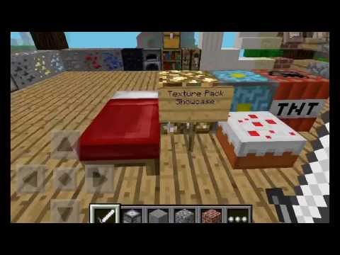 MCPE : Texture Pack Map Demo