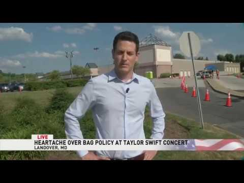 Fans turned away at Taylor Swift concert over FedEx Field bag policy