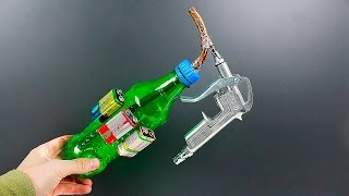 Awesome idea on making a spray gun out of a bottle