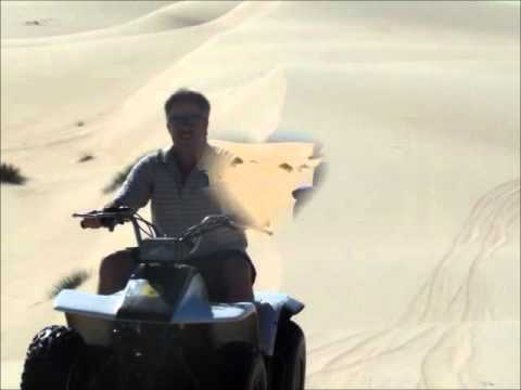 Quad Biking in Dunes
