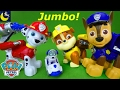 Paw Patrol Toys Jumbo Action Pups Marshall Chase Rubble Mission Paw Cruiser Pups Robo Dog Rocky Toys