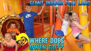 Totally ALONE in the Best Indoor Play Center EVER!!