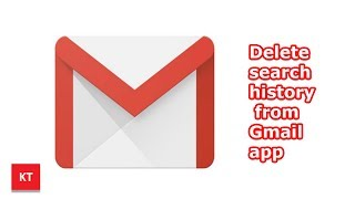 How to delete search history from Gmail app