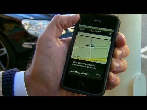 Your private driver via smartphone app