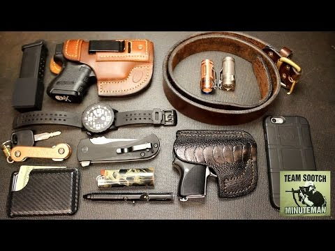 edc everyday carry 2016 youtube