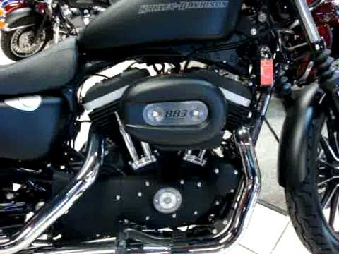 The Harley-Davidson Iron 883 Sportster Video