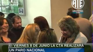 31-05-2012 Congreso Nacional de ATE Parte #02