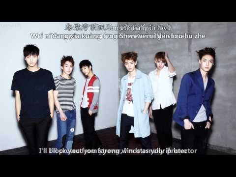 EXO-M - 你的世界 Angel [English subs + Pinyin + Chinese]