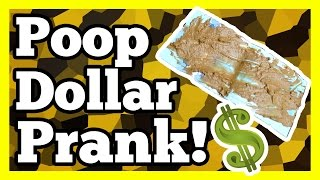 Best Poop Dollar Prank Ever!! Bam Margera Style!