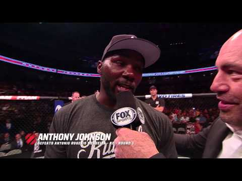 Fight Night San Jose: Anthony Johnson Post-Fight Interview