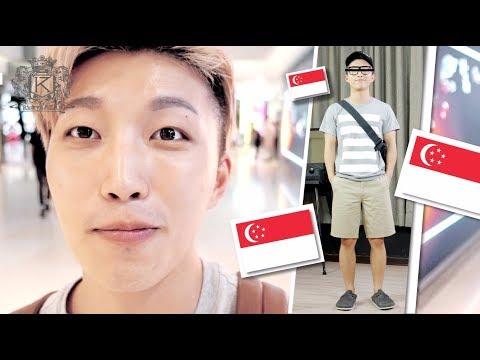 十個新加坡男八個也穿這樣?! 新加坡Fashion你又知道嗎? | RickyKAZAF | 男仔化妝