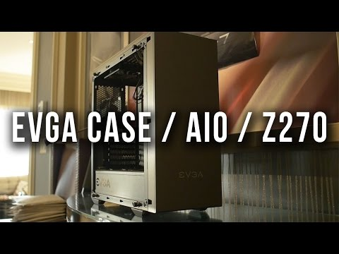 EVGA's Stealthy Z270 Boards With NO Rgb! The New DG-7 And...AIOs??