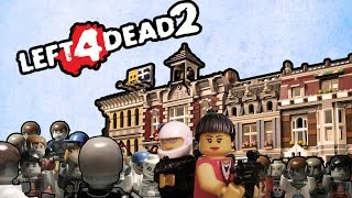 Full HD Lego Prehistory Left 4 Dead 2 ( часть 2 )