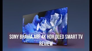 Sony Bravia A8F 4K HDR OLED Smart TV Review | Digit.in