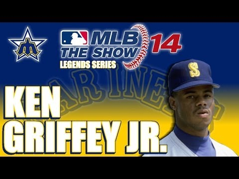 MLB 14 The Show Legends Player Lock: Ken Griffey Jr.