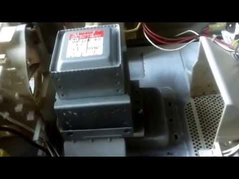 Fallas comunes en hornos de microondas lg