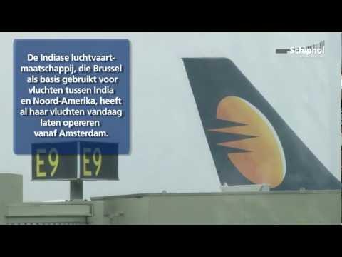 Jet Airways wijkt uit naar Schiphol