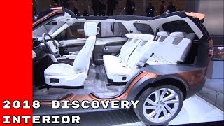 2018 Land Rover Discovery Interior Tour and Demonstration