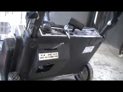 how to fix snowblower
