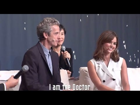 Seoul Q&A Highlights w/ Peter Capaldi & Jenna Coleman - Doctor Who World Tour - #DWWorldTour