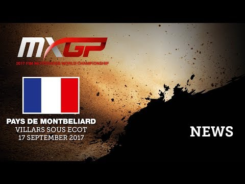 Qualifying Highlights - MXGP of Pays de Montbeliard 2017 - Villars sous Ecot
